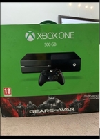 Used Xbox one perfect with 3 games in Dubai, UAE