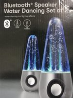 Used Bluetooth Water Dancing speaker in Dubai, UAE