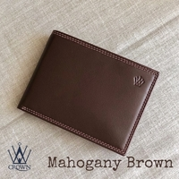 Used Mahogany brown gents wallet in Dubai, UAE
