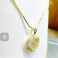 Chopard Jewellery Design 925 Sterling Silver Brand New Chain With Pendent......Hurry!!!!!!!!!!!