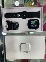 Smart fitness watch with HRS black x18