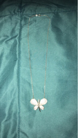 Used Necklace butterfly pendant silver 925 in Dubai, UAE