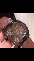 brown new oulm watch