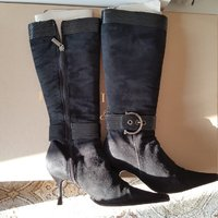 Italian suede boots size 36