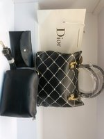 Used Dior black 3 in 1 set of bag in Dubai, UAE