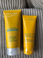 Used Biotherm & Clarins new sun products  in Dubai, UAE