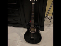 Used black acoustic guitar in Dubai, UAE