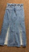 Used First 1 class jeans skirt  in Dubai, UAE
