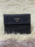 Used Prada nylon short wallet in Dubai, UAE