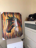 Used SEALED Horse Oil Painting CLEARANCE ‼️‼️ in Dubai, UAE