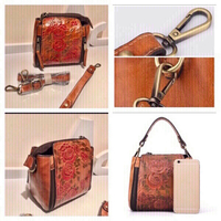 Used Retro genuine small crossbody bag  in Dubai, UAE