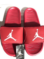 Used New Jordan Red Slides size 40-44 in Dubai, UAE