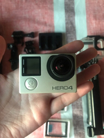 Used GoPro 4 silver  in Dubai, UAE