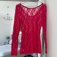 Used Lace neon top free size fitted in Dubai, UAE