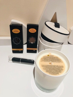Heaven ODE candle & 2 refillable perfume