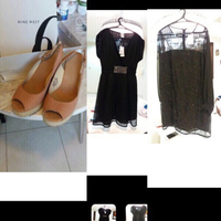 Used Dress and sandals  in Dubai, UAE