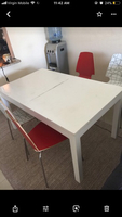 Used Dining table with four chairs in Dubai, UAE