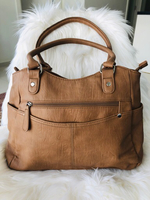 Used Laura Jones Tan Tote Bag in Dubai, UAE