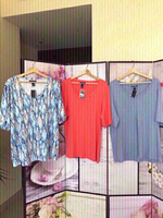 Used 3 AUTHENTIC Karen Scott tops for Summer in Dubai, UAE