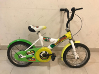 Used Kids bikes red / yellow  in Dubai, UAE