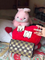 Used New 3pair earrings,wallet & soft toy🧸👇 in Dubai, UAE