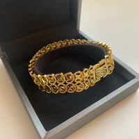 18K gold plated bracelet for women