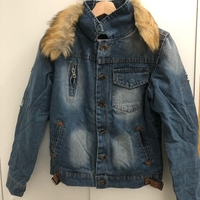 Used Denim Jacket size medium  in Dubai, UAE