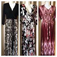 Used 3 long dresses size xxxl new in Dubai, UAE