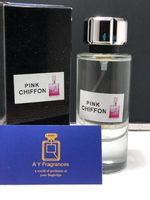 Used Pink chiffon ladies perfume 100ml  in Dubai, UAE