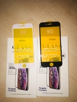 Used 7+ n 8 + glass 9D 5 pcs in Dubai, UAE