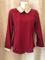 Used Blouse red size M in Dubai, UAE