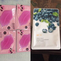 Used 5 FACE MASK AND 4 LIP MASK  in Dubai, UAE