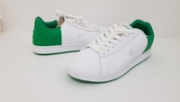 Used Lacoste White/Green Sneaker EU39 in Dubai, UAE