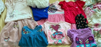 Used Bundle of girls clothes and linen dress in Dubai, UAE