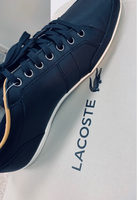 Used Lacoste navy shoes (men)  in Dubai, UAE