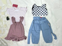 Used NEW 7 Sets PatPat Kids Clothes 2-3 Years in Dubai, UAE