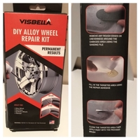 Used DIY Alloy wheel repair kit set in Dubai, UAE