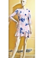 Used Zara floral dress-Small size in Dubai, UAE