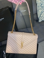 Used YSL beige bag like brand new in Dubai, UAE