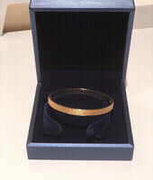 Used Bangle 18 K gold plated  in Dubai, UAE