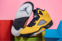 Used Air Jordan 5 Retro Michigan in Dubai, UAE