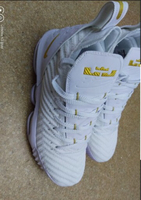 Used Mens shoes lebron white size 43 in Dubai, UAE