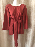 2XL red top/blouse