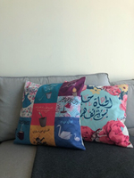 Used Two unique pillow cases in Dubai, UAE