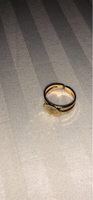 Used NEW 18K gold plated ring for your baby. in Dubai, UAE