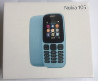 Used Nokia 105 blue single sim.. in Dubai, UAE