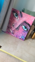 Used Sparkle in the eyes - Hand painted art in Dubai, UAE