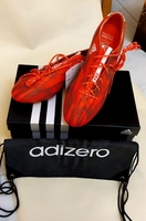 Used Adidas Shoes for him - Red Size 42 2/3 in Dubai, UAE