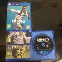 Used PS4 CDs ( FIFA/ COD Blk Ops 3) in Dubai, UAE
