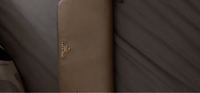 Used Prada beige saffiano leather wallet in Dubai, UAE